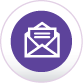 icon showing an envelope